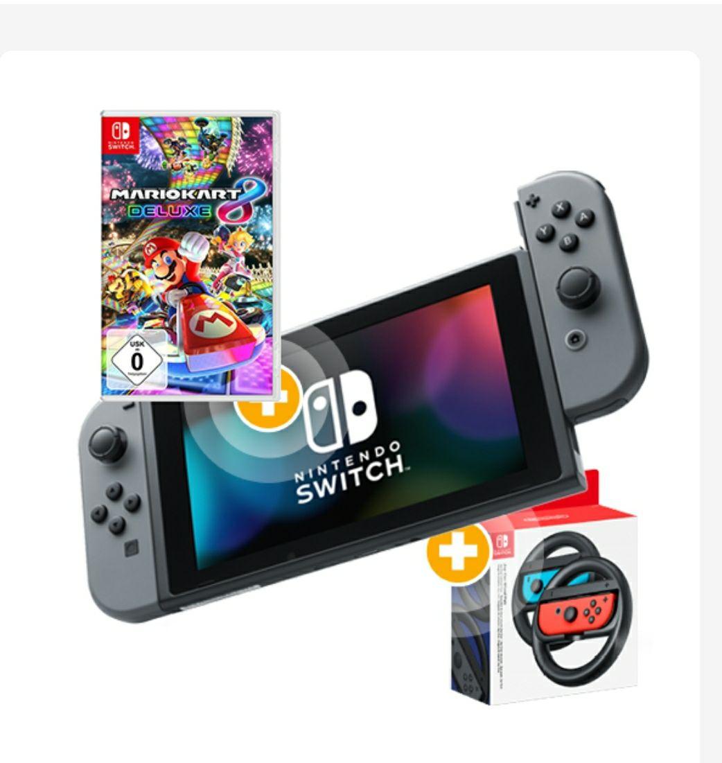 Nintendo Switch Mario Kart 8 Deluxe Bundle zum Stromvertrag erhalten( Sparstrom.de)