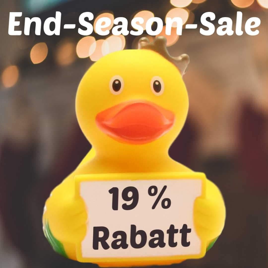 [Duckshop] 19% Rabatt auf Alles - end of season sale bis 31.12.