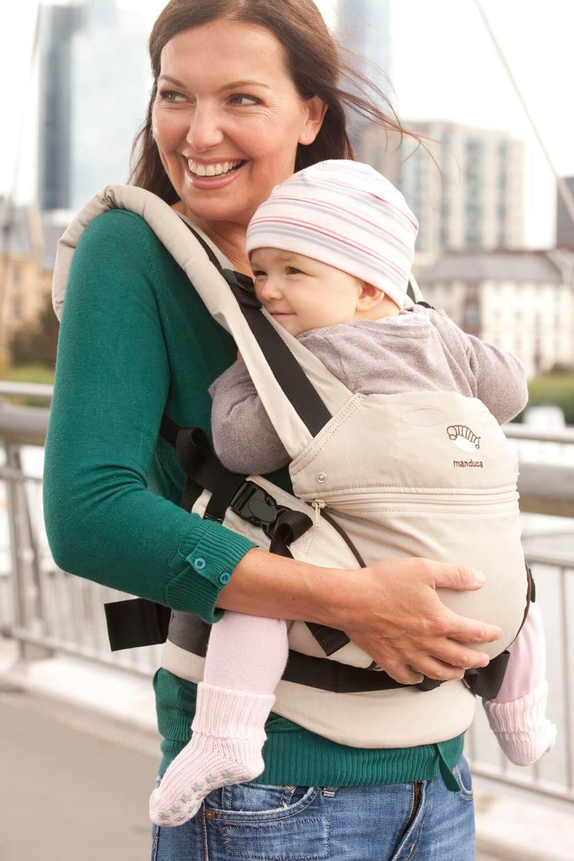 Manduca First HempCotton - Babytrage aus 100% Bio-Baumwolle
