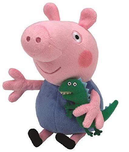 [AMAZON] TY 7146130 - Peppa Pig Baby - George, Schwein mit kleinem Dinosaurier, 15 cm - [PRIME] 8,95€ Händler 99% Positiv (4778 Bewertungen)