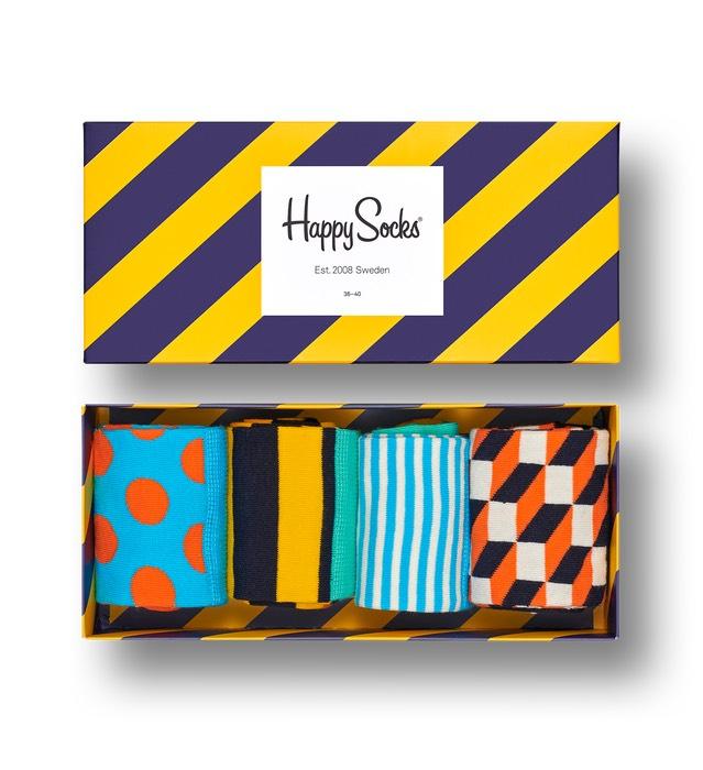 [Happy Socks] 40% Rabatt auf ausgewählte Artikel + 10% Newslettercode + ggf. 8% Shoop (Versandkostenfrei ab 10€)
