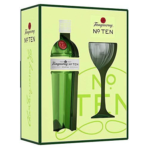 [amazon Prime] Tanqueray No. Ten (0,7l) im Geschenkkarton mit Glas