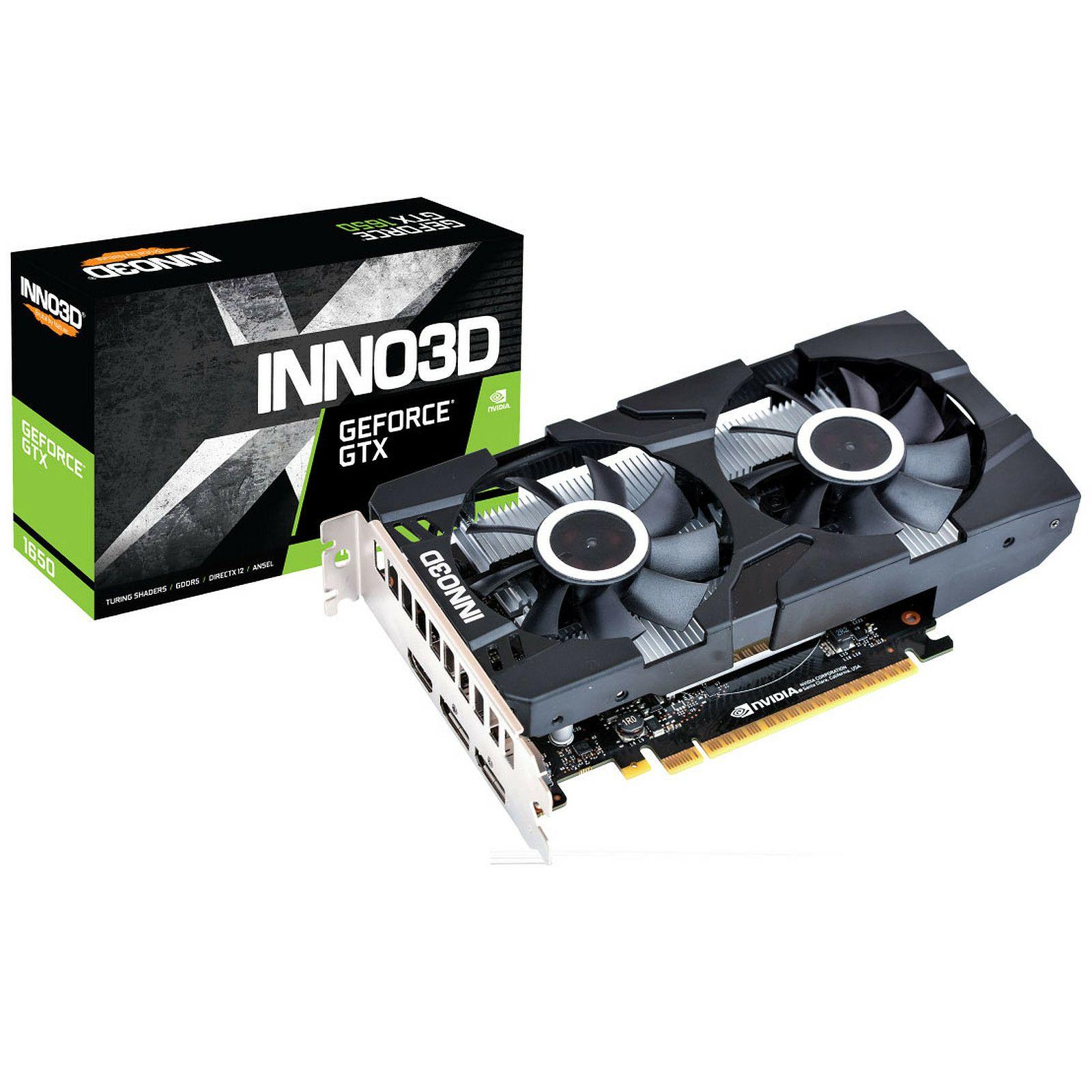 [NL Grenzgänger] Inno3D GeForce GTX 1650 Twin X2 OC 4GB GDDR5 Grafikkarte DP/HDMI