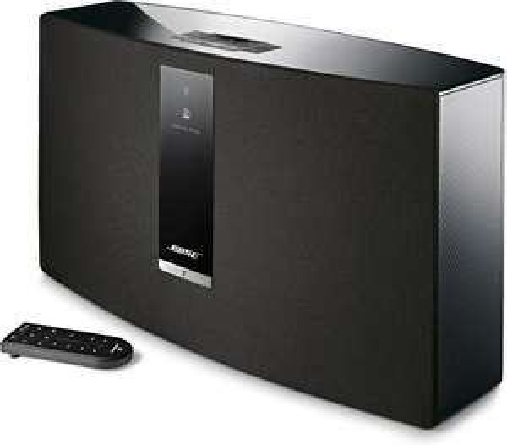 BOSE SoundTouch 30 III schwarz und weiß (WLAN, Bluetooth, AUX-Eingang, Ethernet-Anschluss) [Cyberport]