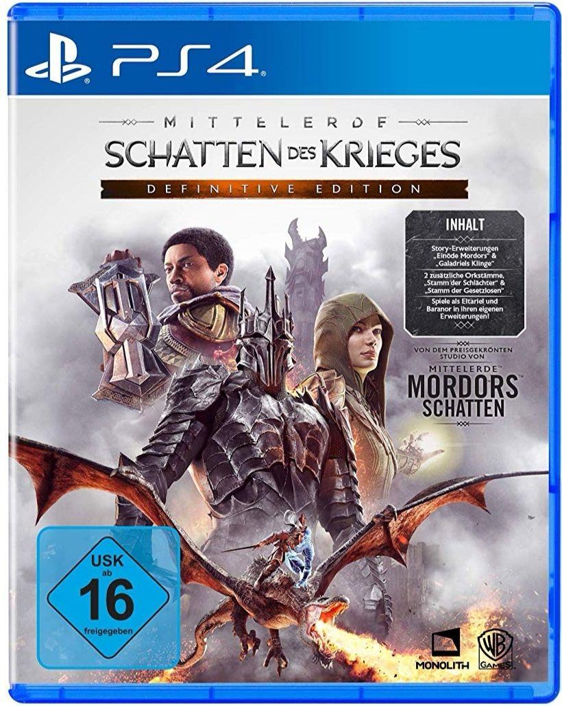 Mittelerde Schatten des Krieges - Definitive Edition PS4