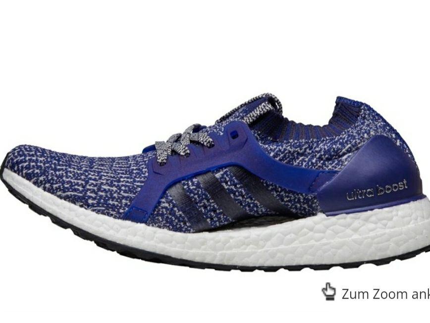 adidas Damen UltraBOOST X Neutral Laufschuhe Dunkelkobaltblau Größen 36-40