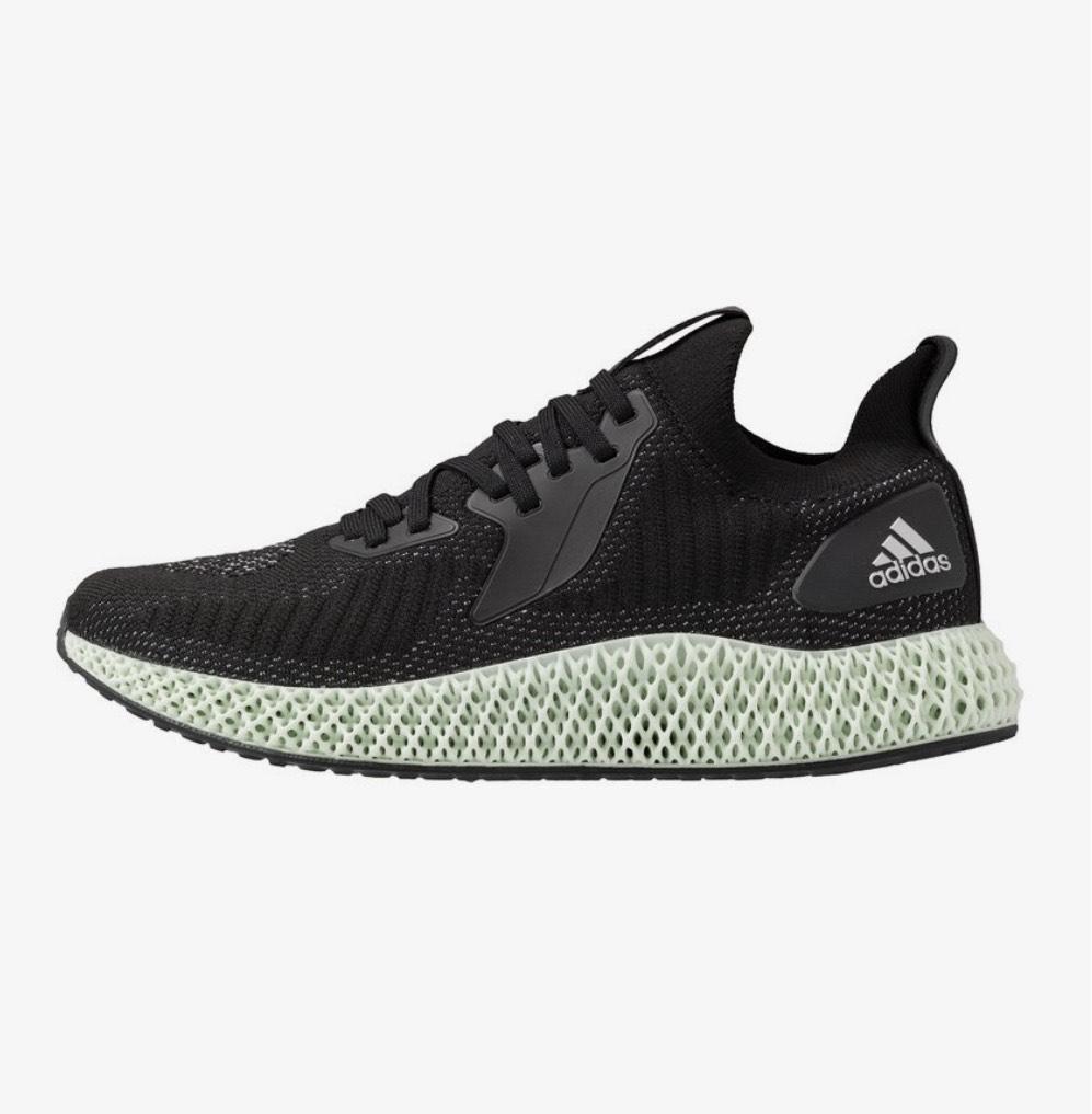 Adidas 4D Alphaedge Reflective schwarz / weiß