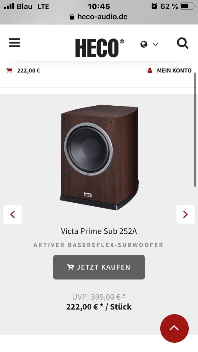 Heco Victa Prime 252a Sub