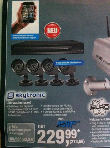 Skytronic Überwachungsset @Metro (Offline)