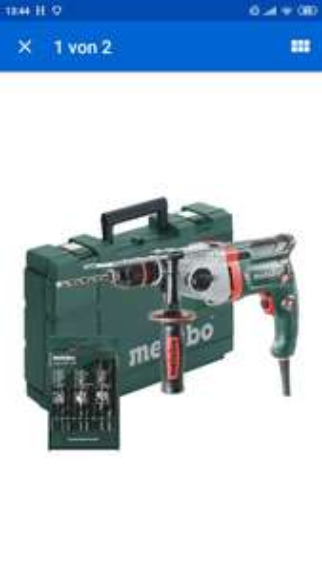 [eBay] Metabo Schlagbohrmaschine SBE 850-2 inkl. Bohrer