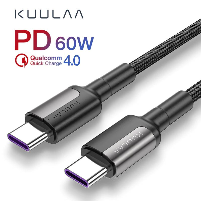KUULAA USB Typ C auf USB Typ C Kabel