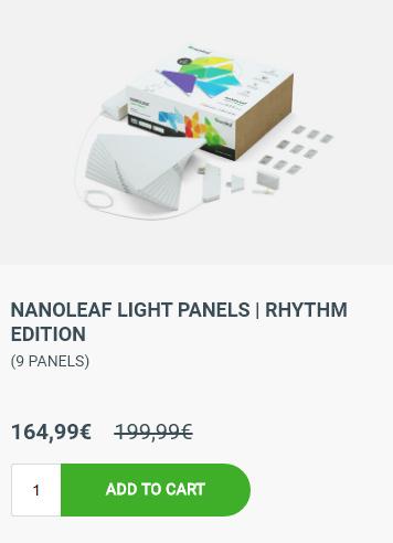 Nanoleaf Light Panels Rhythm Edition 9 Panels (und mehr)