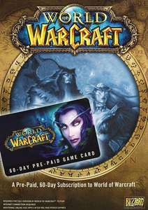 World of Warcraft - GameCard (60 Tage)