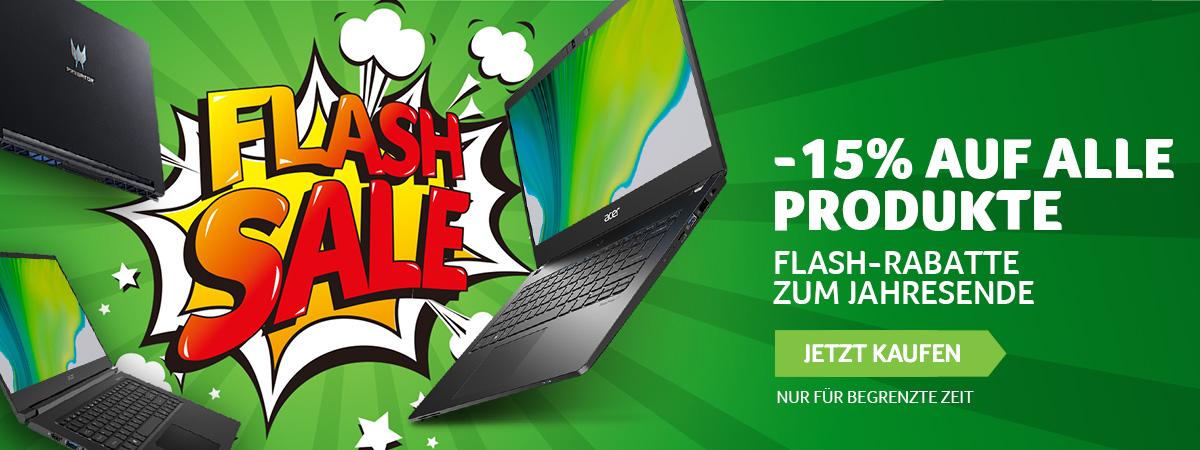 Flash Sale Acer Store Deutschland