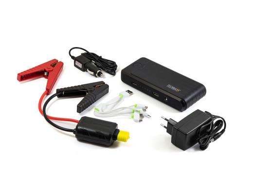 "Technaxx Jump-Starter 3in1-Gerät ""TX-78"" (Auto-Starthilfe, Powerbank und Notlicht, 10000mAh) [iBOOD]"