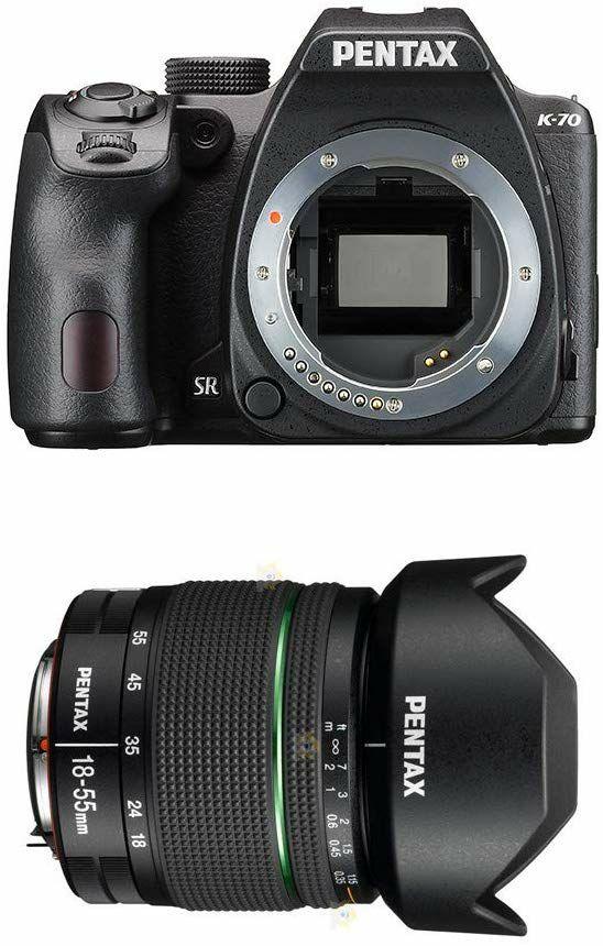 Pentax K-70 Spiegelreflexkamera mit Objektiv DA 18-55mm WR (AC-Foto)