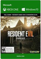 Resident Evil 7: Biohazard (Xbox One/Windows 10) für 4,99€ (Microsoft Store)