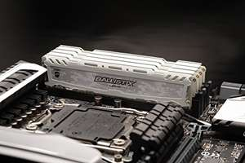 [amazon.de] Crucial Ballistix Sport LT weiß DIMM Kit 32GB, 4x 8GB, DDR4-2666, CL16-18-18, Farbe weiß