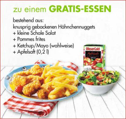 Gratis Essen für maximal 2 Kinder ab einem Einkauf von 50 Euro [Galeria Karstadt Kaufhof]