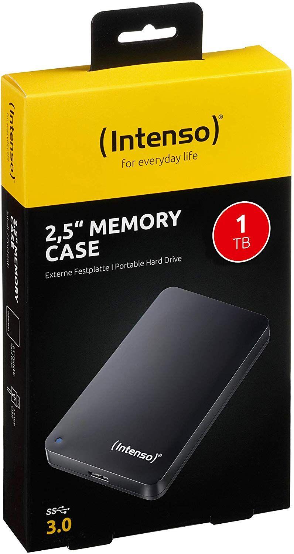 "Intenso 2.5"" 1TB Memory Case externe Festplatte USB 3.0 VIKING.DE"
