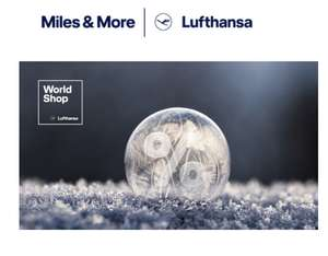 Bis zu 25% bei Miles and More