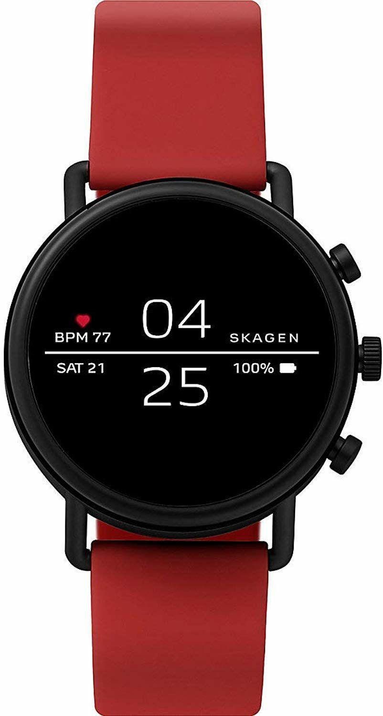 Skagen Falster 2: Android Smartwatch (GPS, Herzfrequenzmessung, 3ATM Wasserdicht, Musiksteuerung, Google Pay)