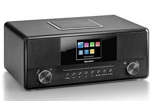 Karcher DAB 9000CDi Internetradio mit CD-Player (DAB+ / UKW-RDS, WLAN & Bluetooth, USB-Anschluss, AUX-IN)