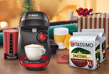 Tassimo 35% Rabatt auf alle Getränke= 3,24€/Packung (Online)