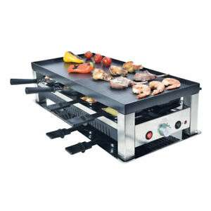 [Ebay] Solis Raclettegrill Tischgrill 5-in-1 Typ 791 - Edelstahl - 1400W