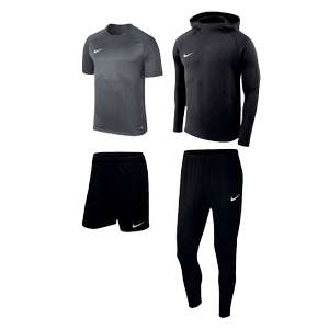 Nike Set Premium 4-teilig (Hoody, Pants, Shirt, Shorts)
