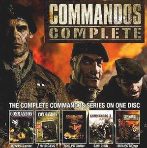 Commandos Complete Collection für 3.49€ @ getgamesgo