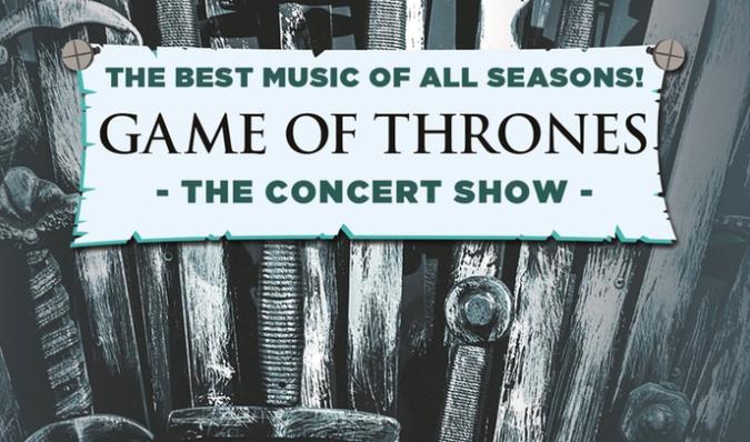 """2 Tickets für """"GAME OF THRONES"""": The Concert Show in 19 Städten PK 1 für 84,15€"""