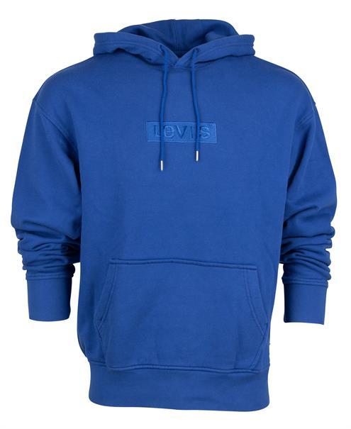 25% Rabatt on Top auf bereits reduzierte Pullover und Sweatshirts, z,B. blauer Levi's Hoodie