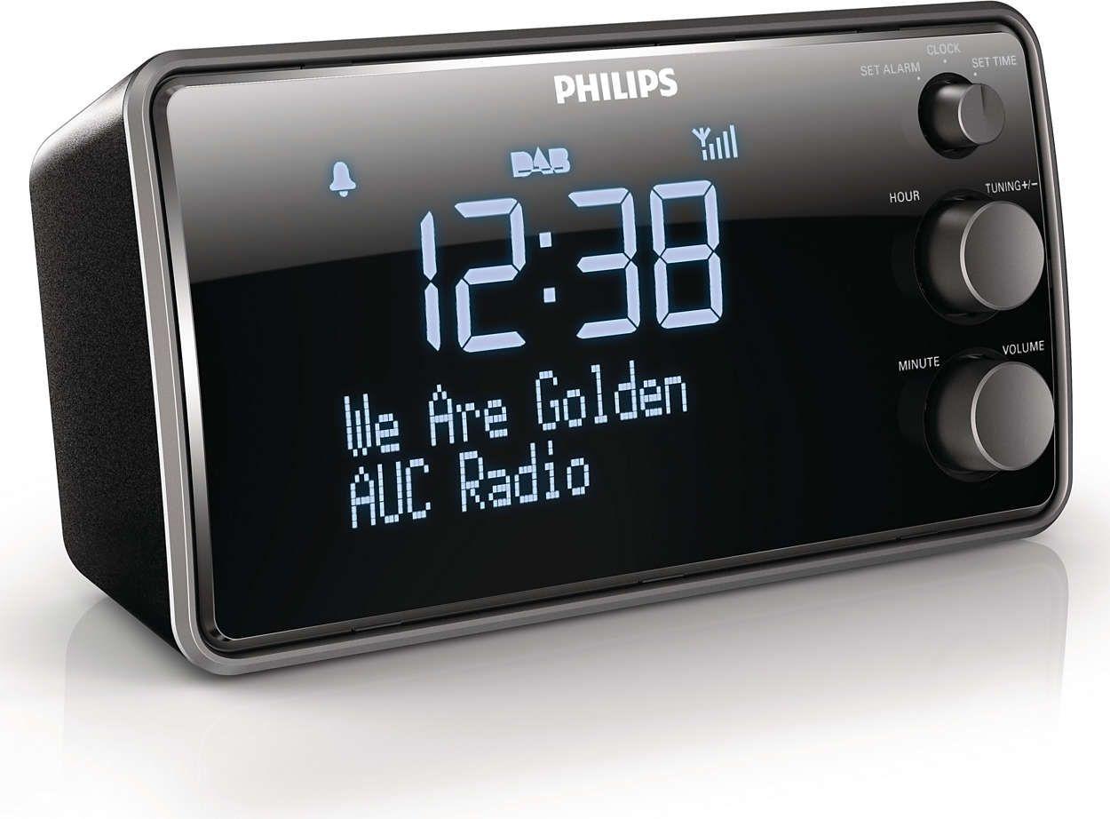Philips AJB3552 digitaler Radiowecker DAB+ (Amazon.de)