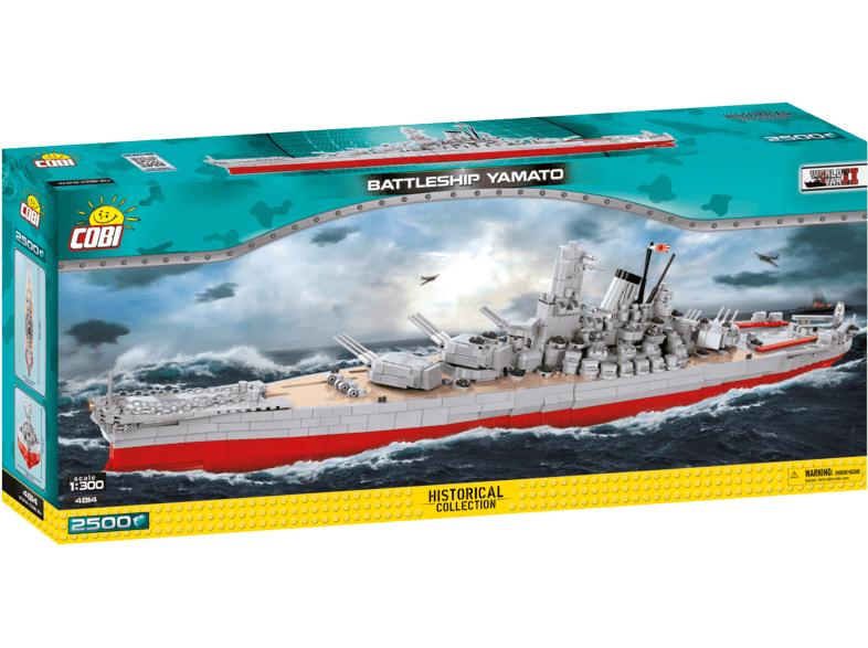 [PRIME] Cobi Schlachtschiff Yamato, 2500 Steine