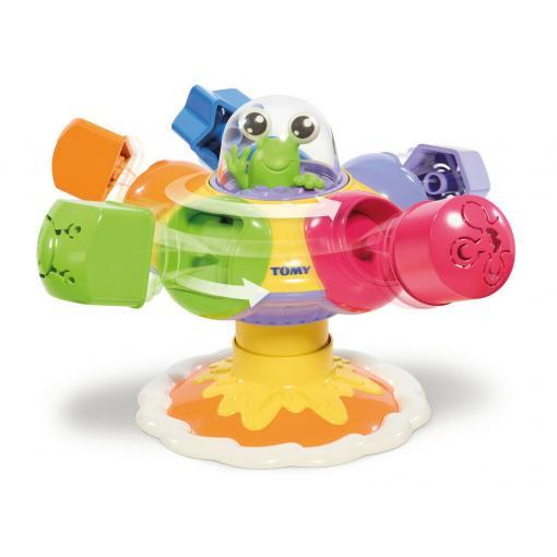 TOMY Toomies Dreh- Sortier- & Plopp Ufo (Lernspielzeug, Für Kinder ab 10 Monaten geeignet) *versandkostenfrei* [DEALCLUB]