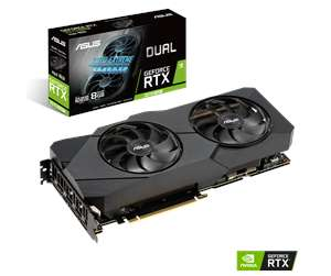 ASUS GeForce RTX 2070 SUPER DUAL Advanced EVO - 8GB GDDR6 - Grafikkarte