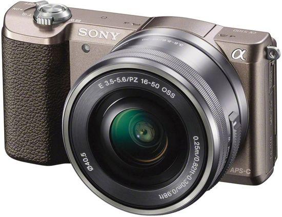 Sony A5100 Alpha 5100 Kit 16-50 mm braun