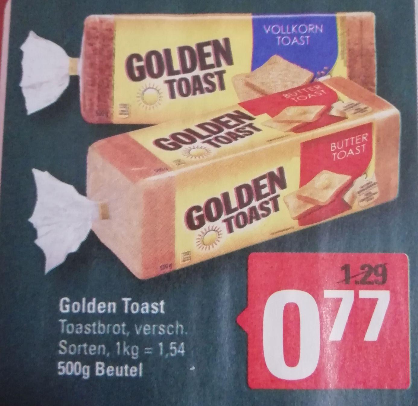 [Marktkauf/Edeka Minden-Hannover] Golden Toast für 0,77€ (0,37€ möglich)
