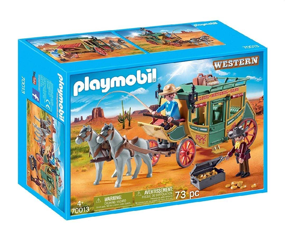 [Amazon Prime] Playmobil 70013 Western Westernkutsche, bunt, ab 4 Jahren