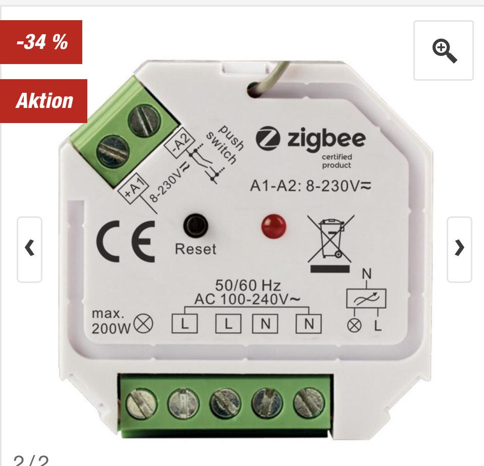 TOOM - tint Smart Switch Zigbee / Hue kompatibel