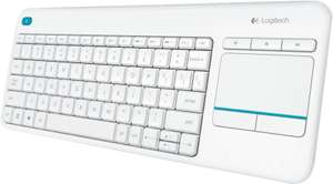 [Lokal MediMax HH Rahlstedt] Logitech K 400 Plus Wireless Touch weiss 15€