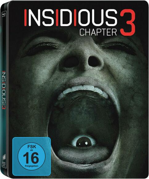 Insidious: Chapter 3 - Jede Geschichte hat einen Anfang Limited Edition Steelbook (Blu-ray) für 5€ versandkostenfrei (Saturn)
