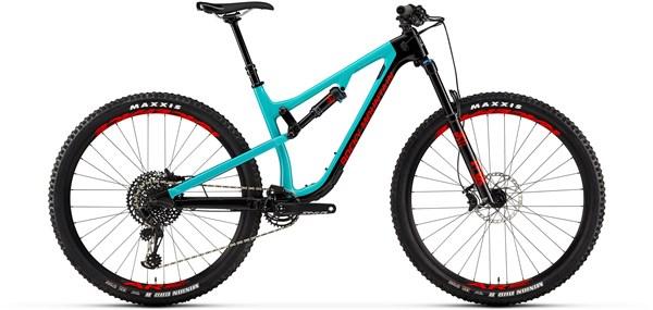 """MTB Rocky Mountain Instinct Carbon 50 29"""" (Carbon/Eagle GX/13,60kg) - 2019 (Black/Blue L)"""