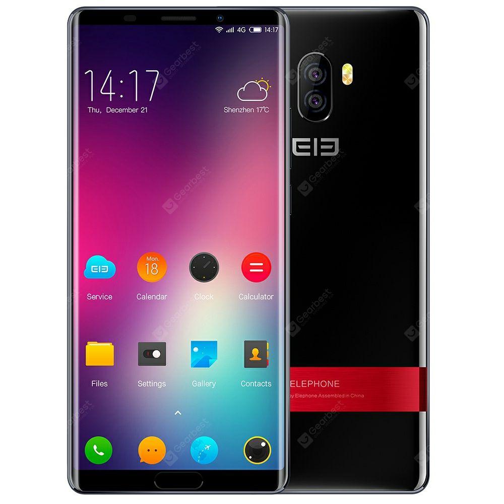 Elephone P11 3D 4G Smartphone 4GB RAM - Schwarz