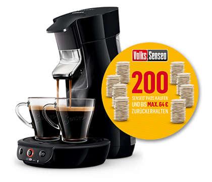 lokal? Volks Senseo (Philips Viva Cafe) für 39€ bei Rewe