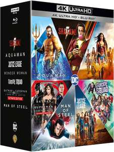DC Extended Universe - 7 Film Collection (4k UHD + Blu-Ray)