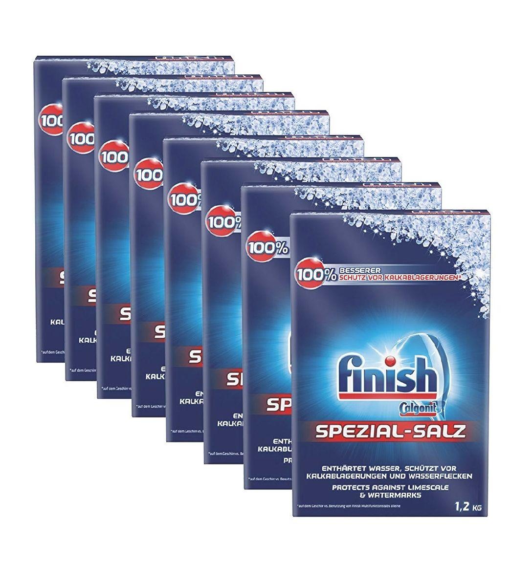 [Amazon Prime] Finish Spezialsalz, 8er Pack (8 x 1.2 kg = 9,6 kg) (Plus Produkt)