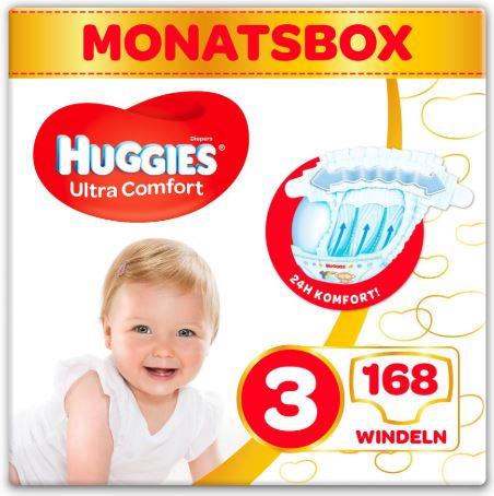 [windeln.de] Huggies Windeln und Pants alle Größen 25% günstiger