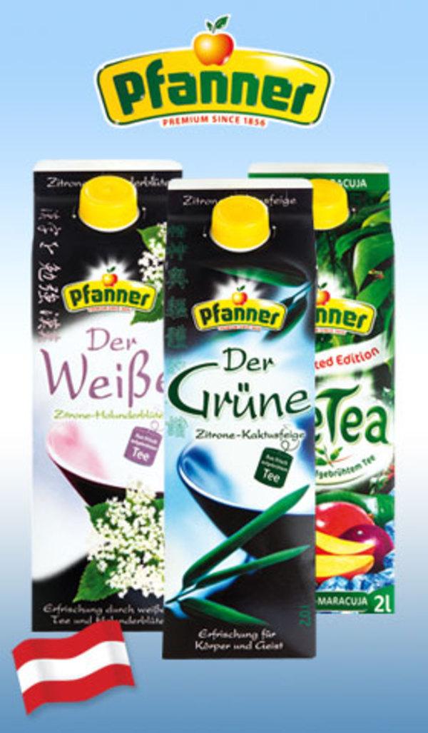[Kaufland bis zum 8.1] Pfanner Eistee 2l Lemon-Lime,Pfirsich für 0,91€ dank Coupon